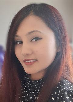 Maisha Hafiz portrait photo