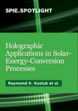 Book cover - Holographic Applications in Solar-Energy-Conversion Processes
