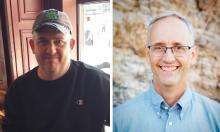 Headshots of Robert McBride and Rich Scholes