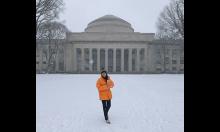 UN alumna Xinyi Gu at MIT