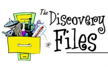 NSF Discovery Files podcast logo