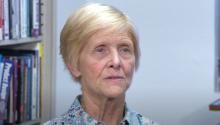 Screencap of a video of Linda Powers