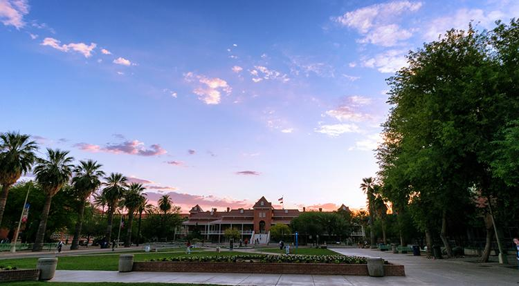 Old Main Bldg., University of Arizona