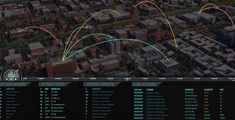 A virtual city called CyberApolis