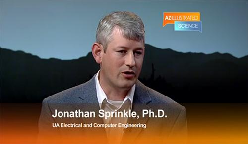 In a video featured recently on Arizona Public Media, Jonathan Sprinkle discusses how mHealth, or mobile health, ties engineers, scientists, doctors, and patients.